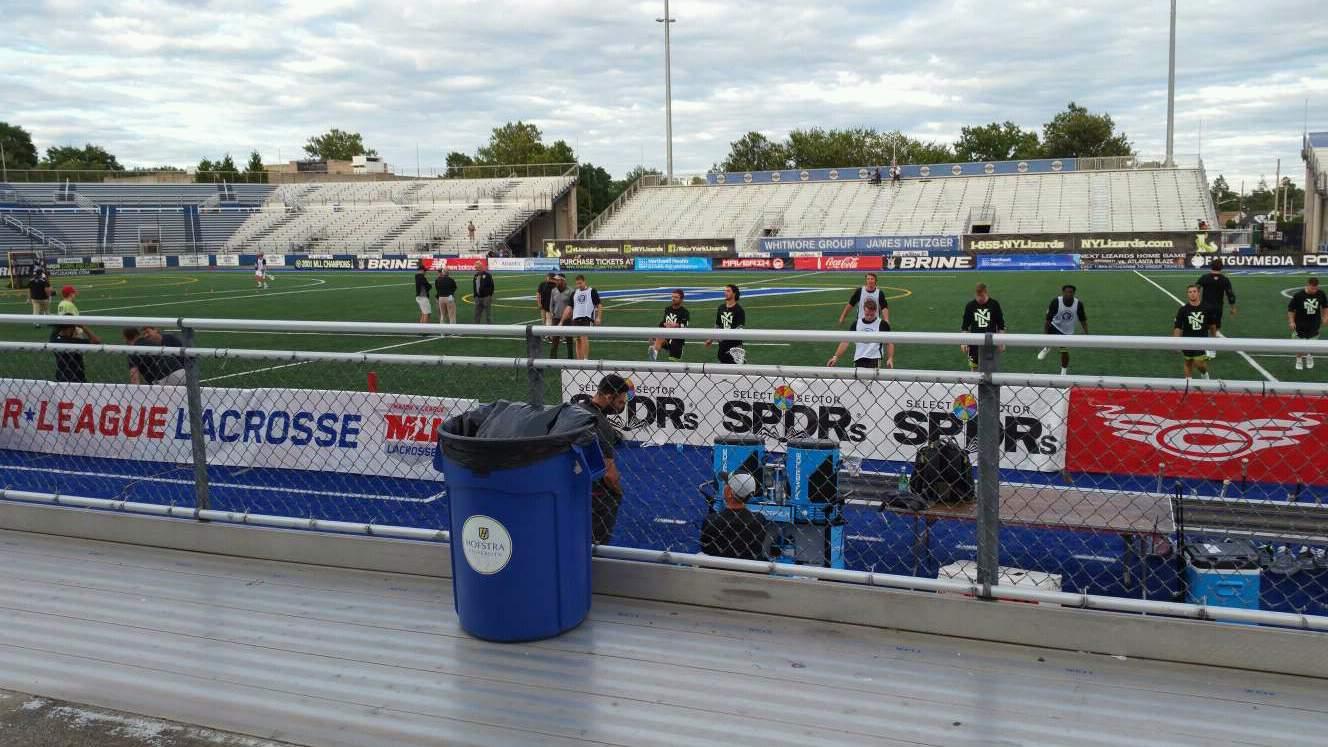 James M. Shuart Stadium Section 3 Row 3 Seat 13