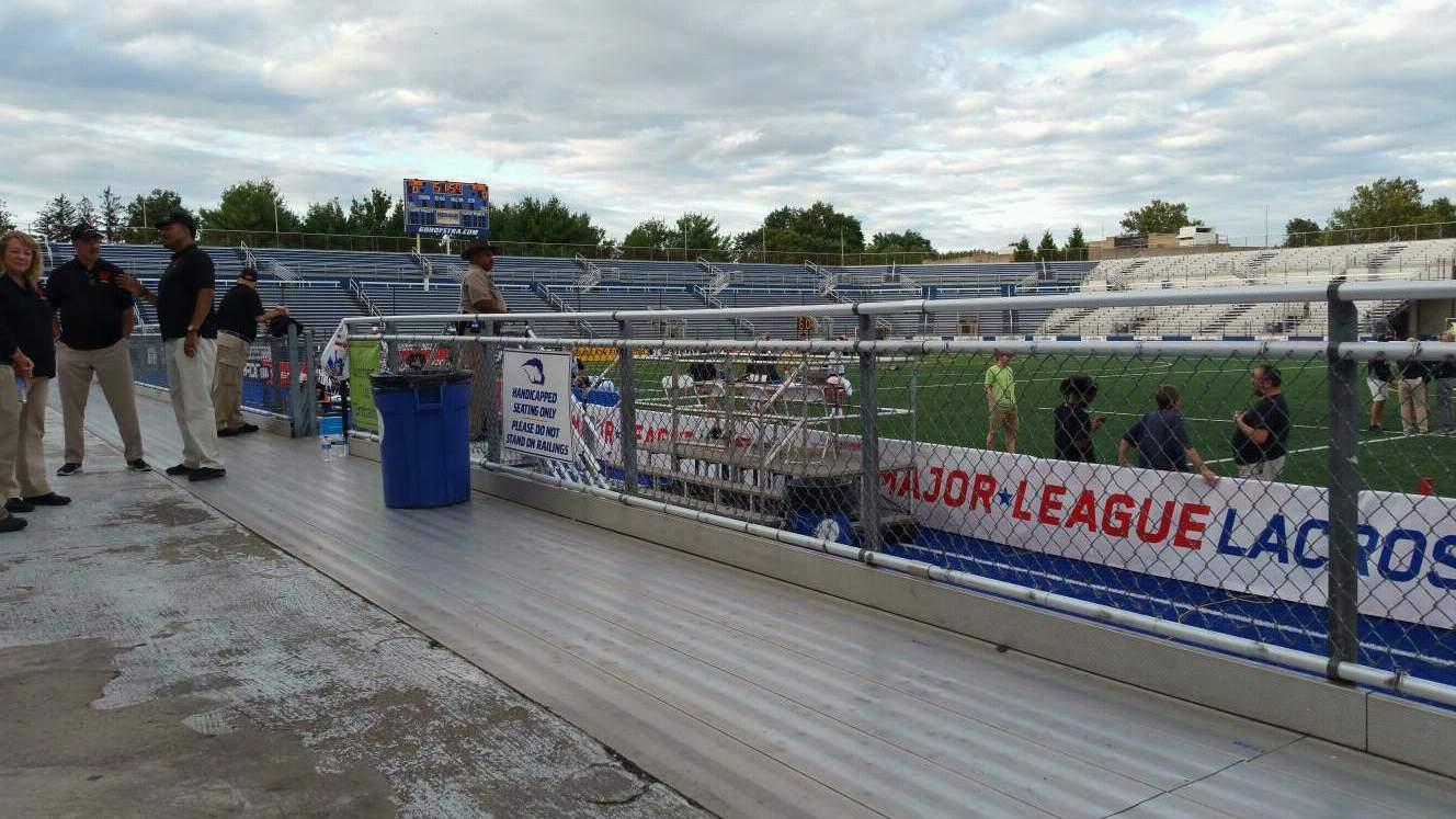 James M. Shuart Stadium Section 3 Row 1 Seat 21