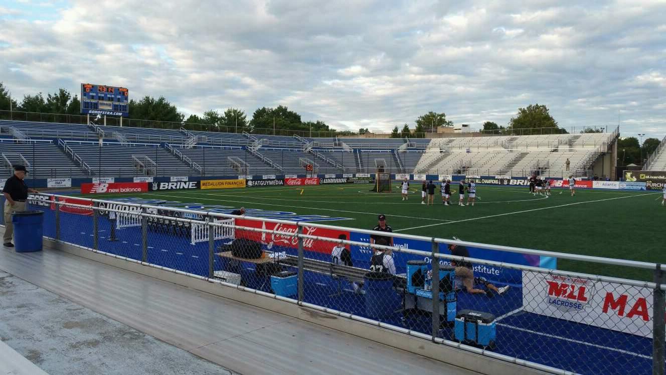 James M. Shuart Stadium Section 4 Row D Seat 23