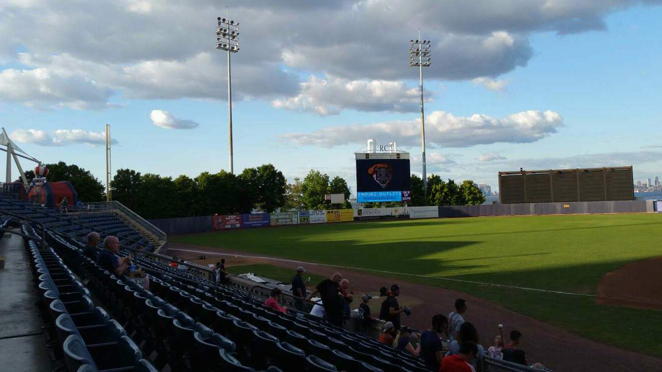 Richmond County Bank Ballpark Section 5 Row K Seat 1