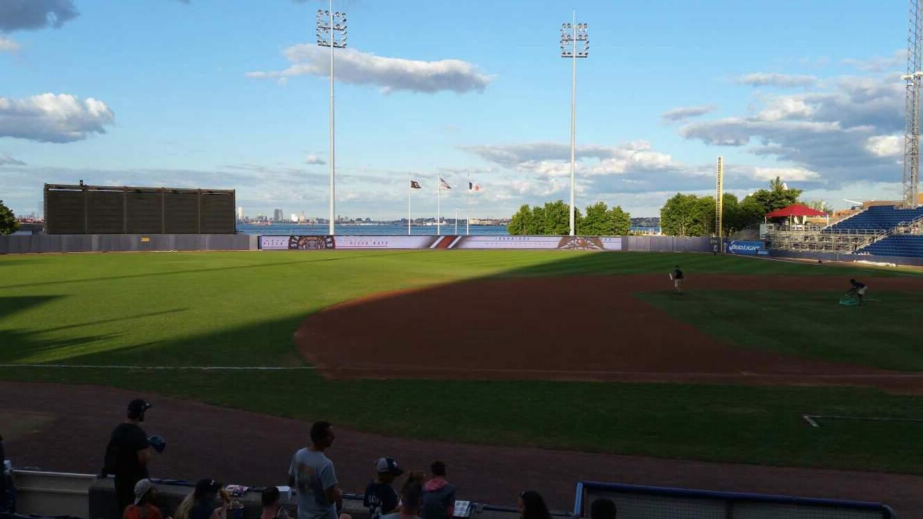 Richmond County Bank Ballpark Section 5 Row K Seat 11