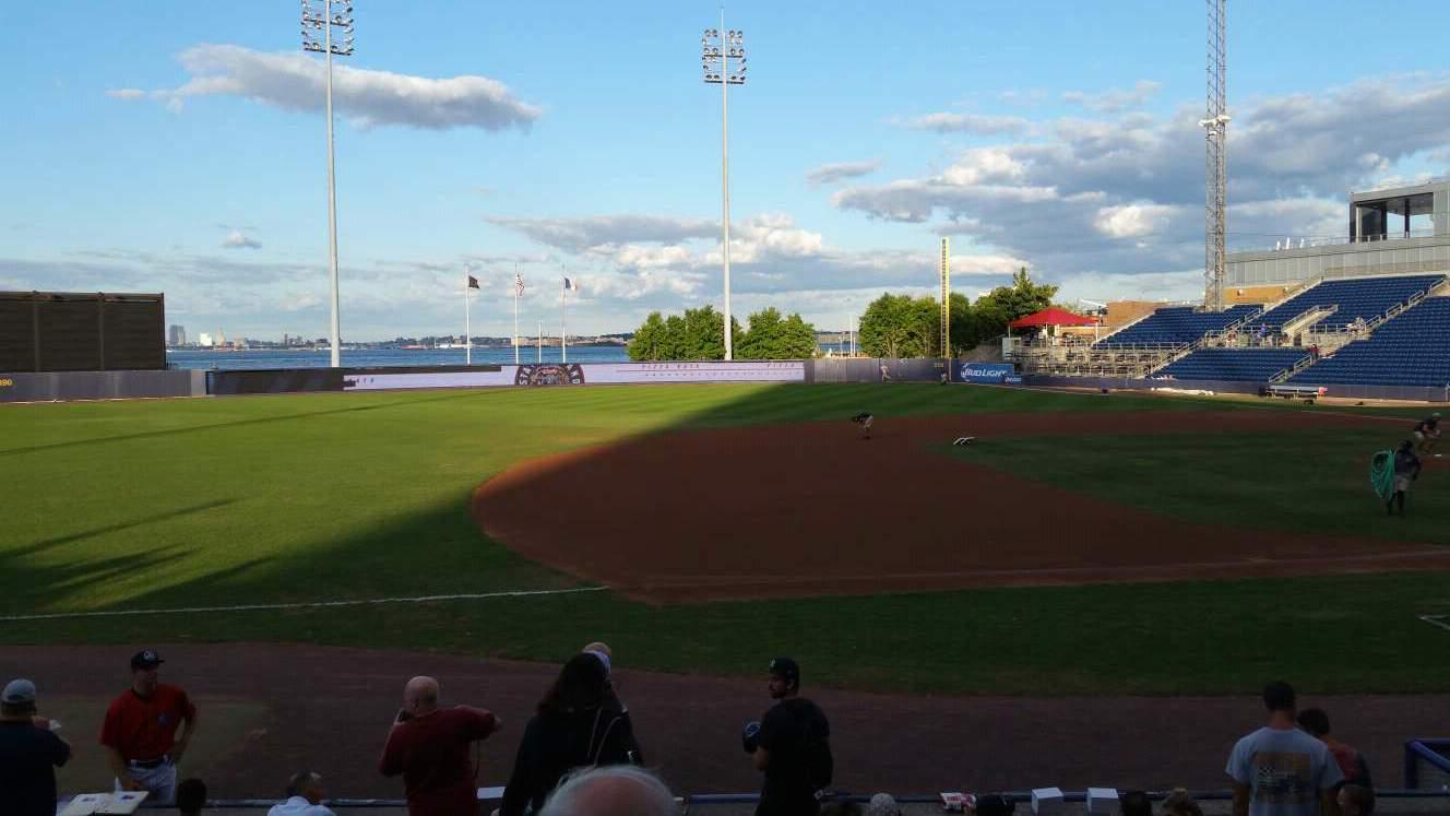 Richmond County Bank Ballpark Section 5 Row K Seat 22
