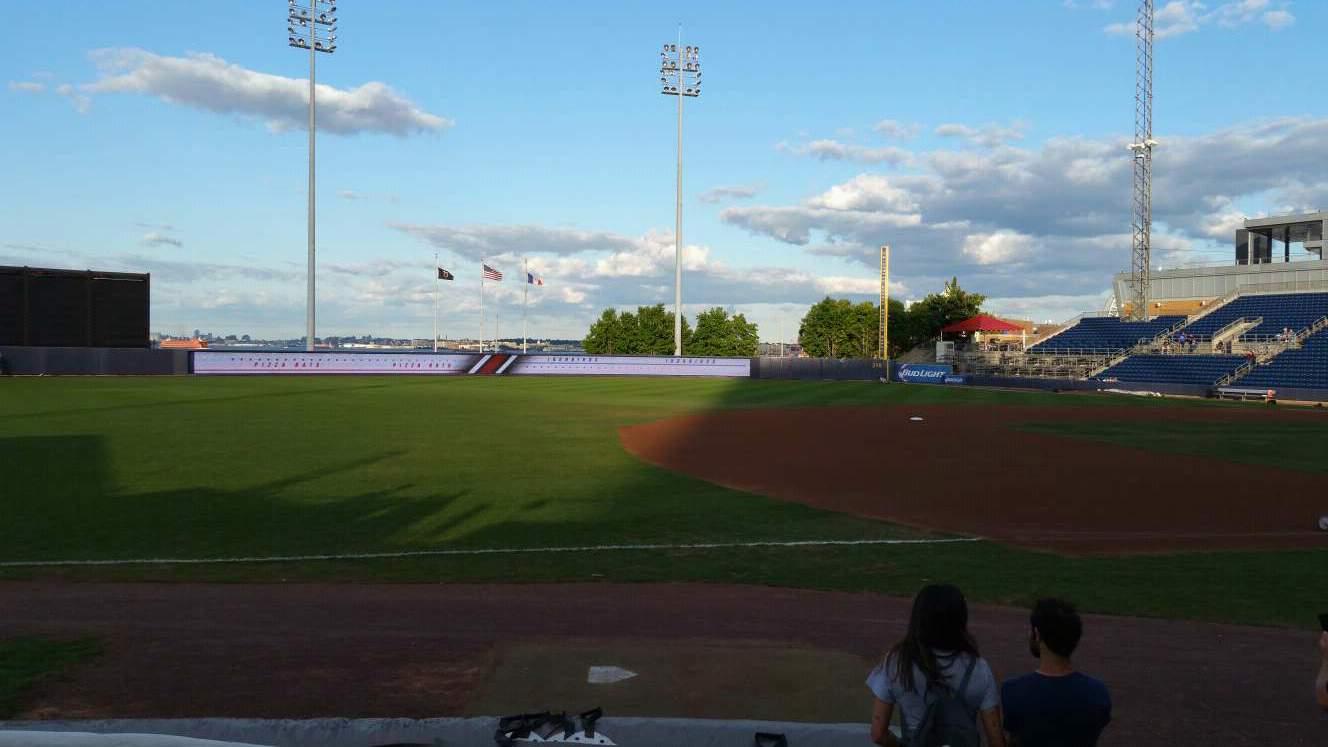 Richmond County Bank Ballpark Section 4 Row F Seat 13