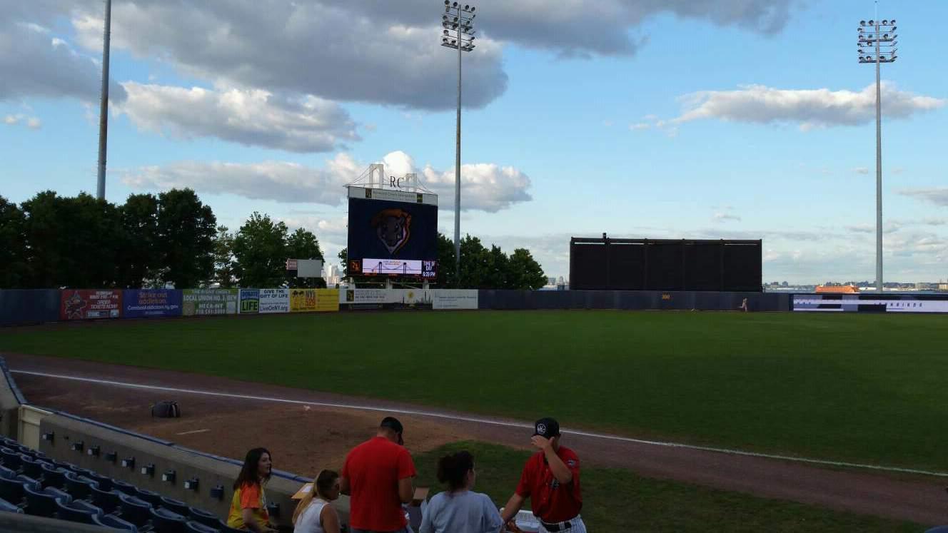 Richmond County Bank Ballpark Section 4 Row F Seat 24