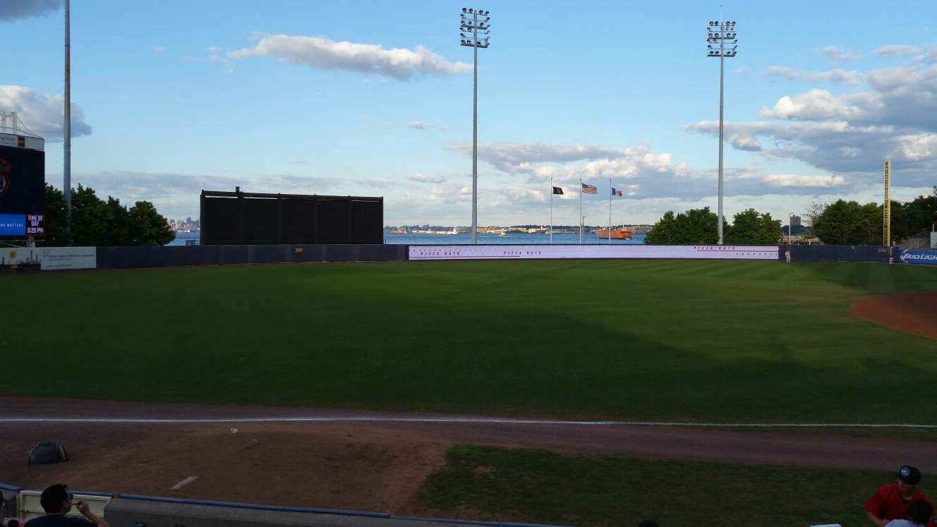 Richmond County Bank Ballpark Section 3 Row K Seat 11