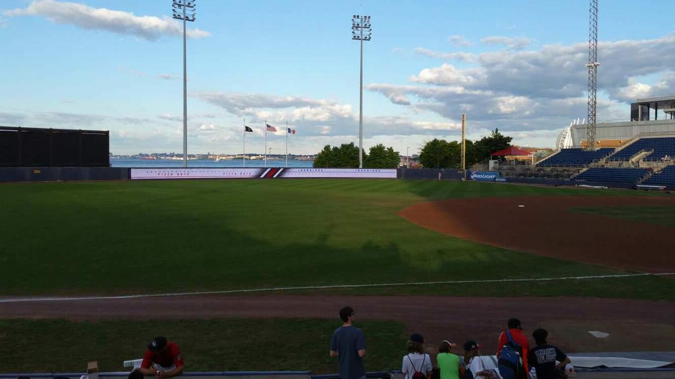 Richmond County Bank Ballpark Section 3 Row K Seat 1