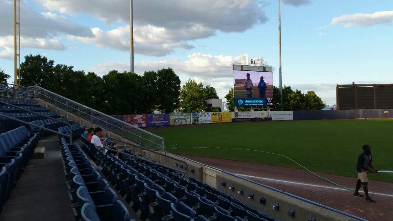 Richmond County Bank Ballpark Section 2 Row F Seat 1