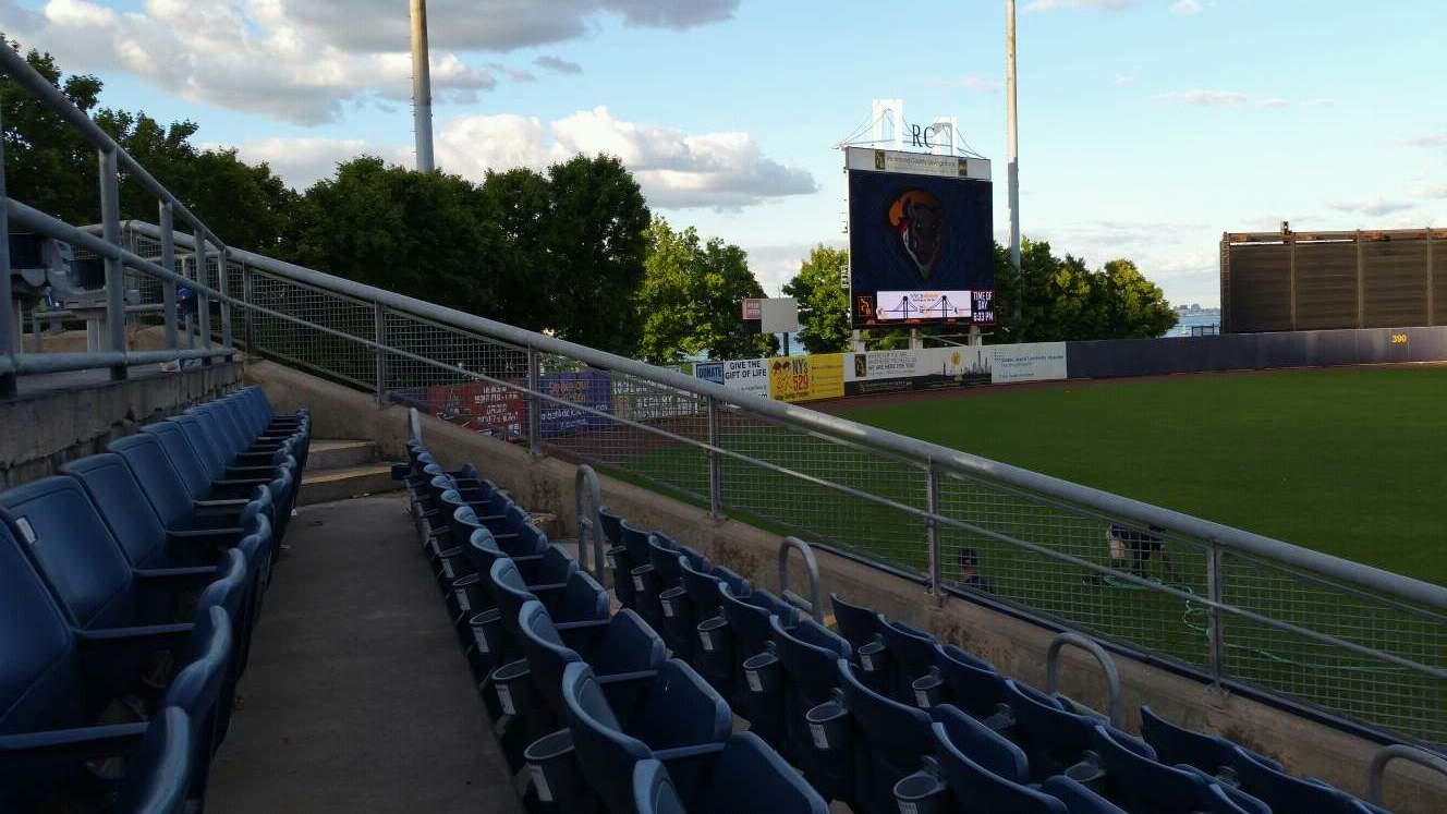 Richmond County Bank Ballpark Section 1 Row J Seat 10