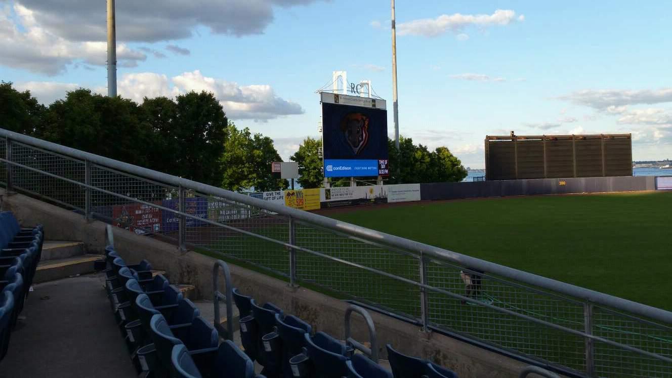 Richmond County Bank Ballpark Section 1 Row J Seat 11