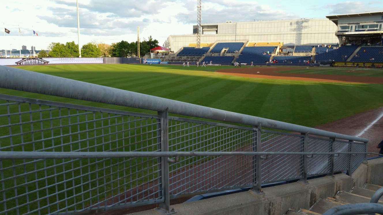 Richmond County Bank Ballpark Section 1 Row J Seat 24
