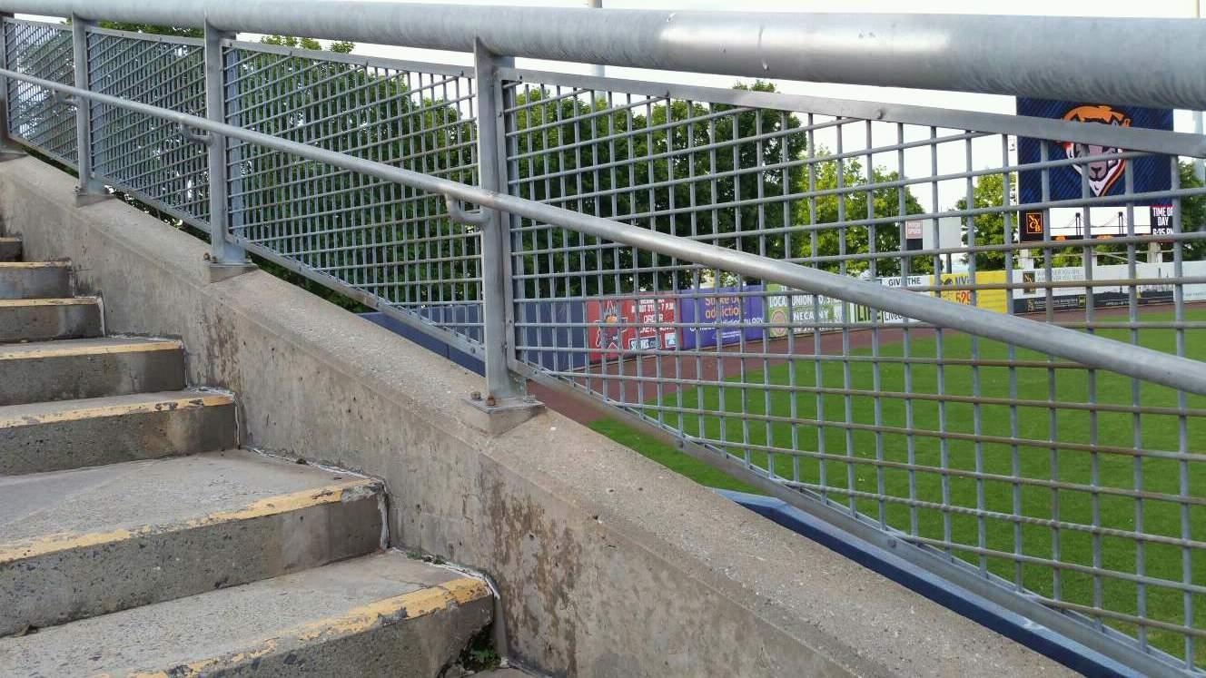 Richmond County Bank Ballpark Section 1 Row F Seat 19