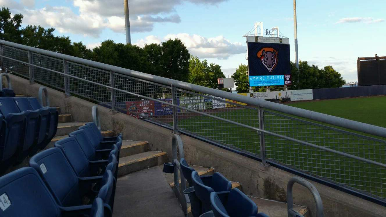 Richmond County Bank Ballpark Section 1 Row F Seat 11