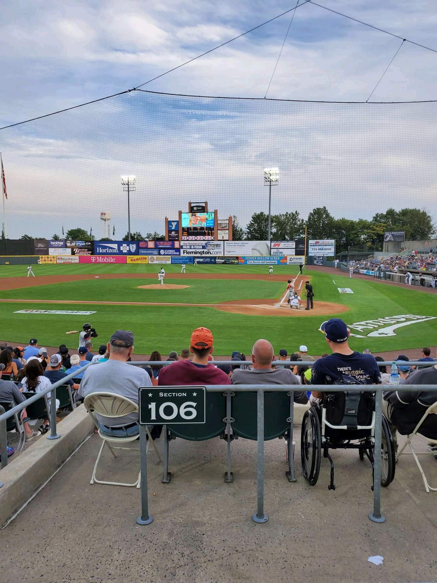 TD Bank Ballpark Section 206 Row K Seat 10