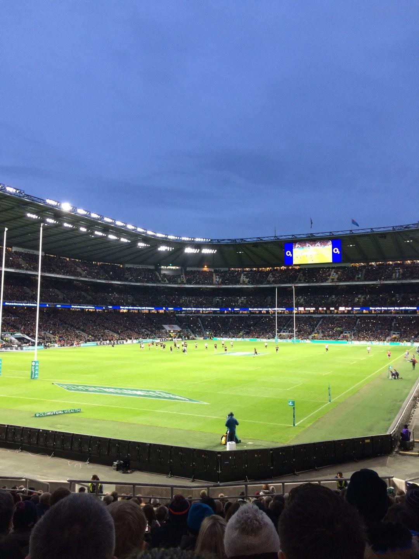 Twickenham Stadium Section L31 Row 23 Seat 62