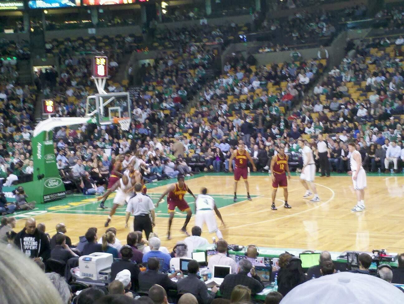 TD Garden Section Loge 22