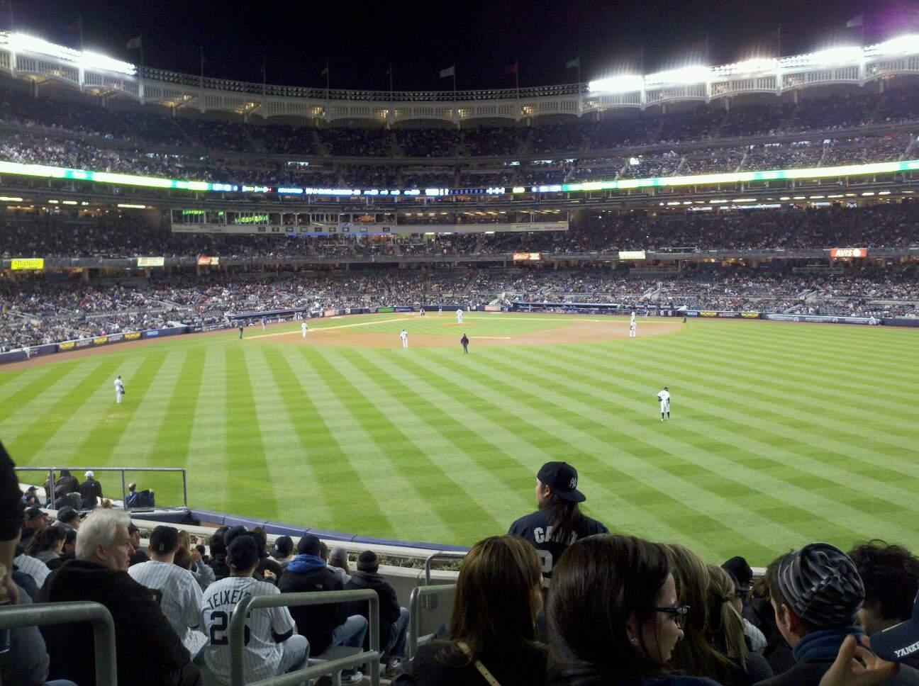 Yankee Stadium Section 201 Row 12 Seat 28