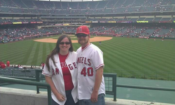 Angel Stadium Section P249 Row a Seat 1