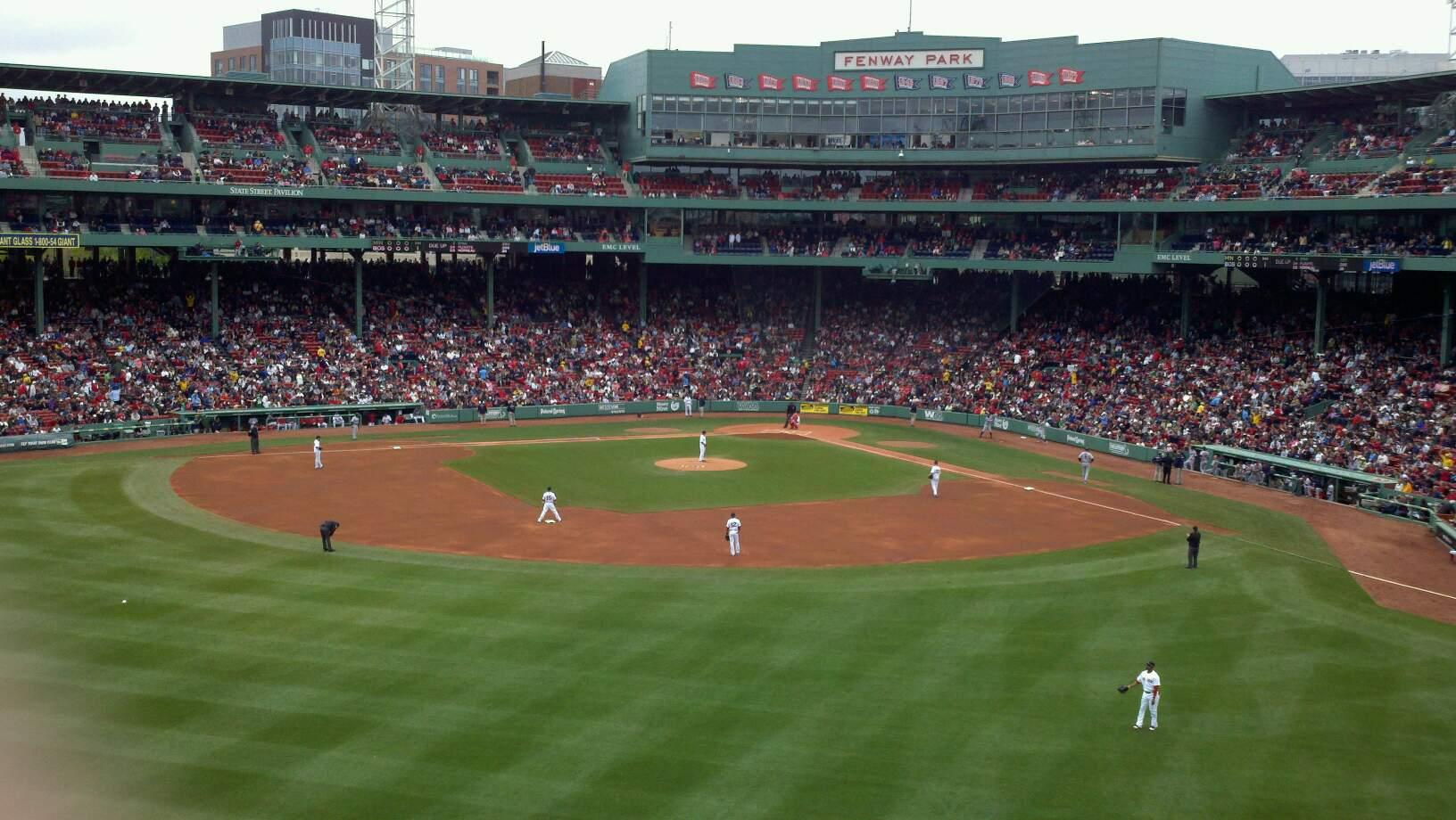 Fenway Park Section Green Monster 8 Row 2 Seat 6