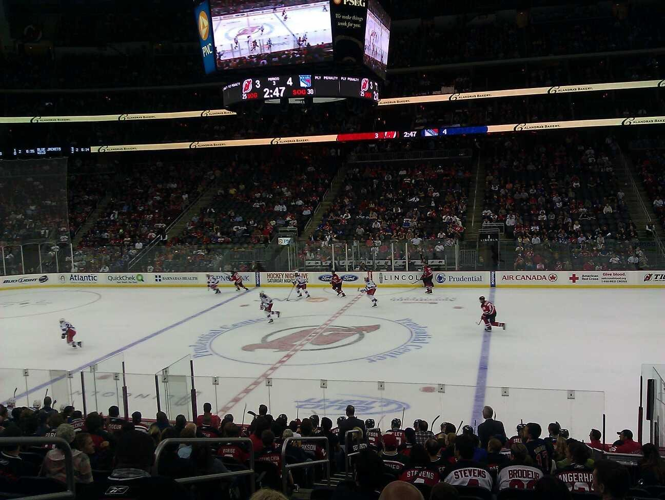 Prudential Center Section 9 Row 17 Seat 16