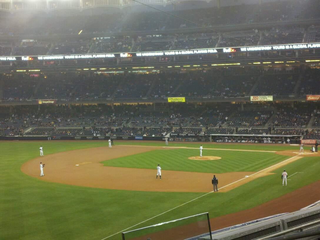 Yankee Stadium Section 230 Row 5 Seat 7