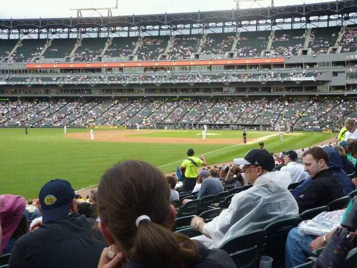Guaranteed Rate Field Section 147 Row 14 Seat 8