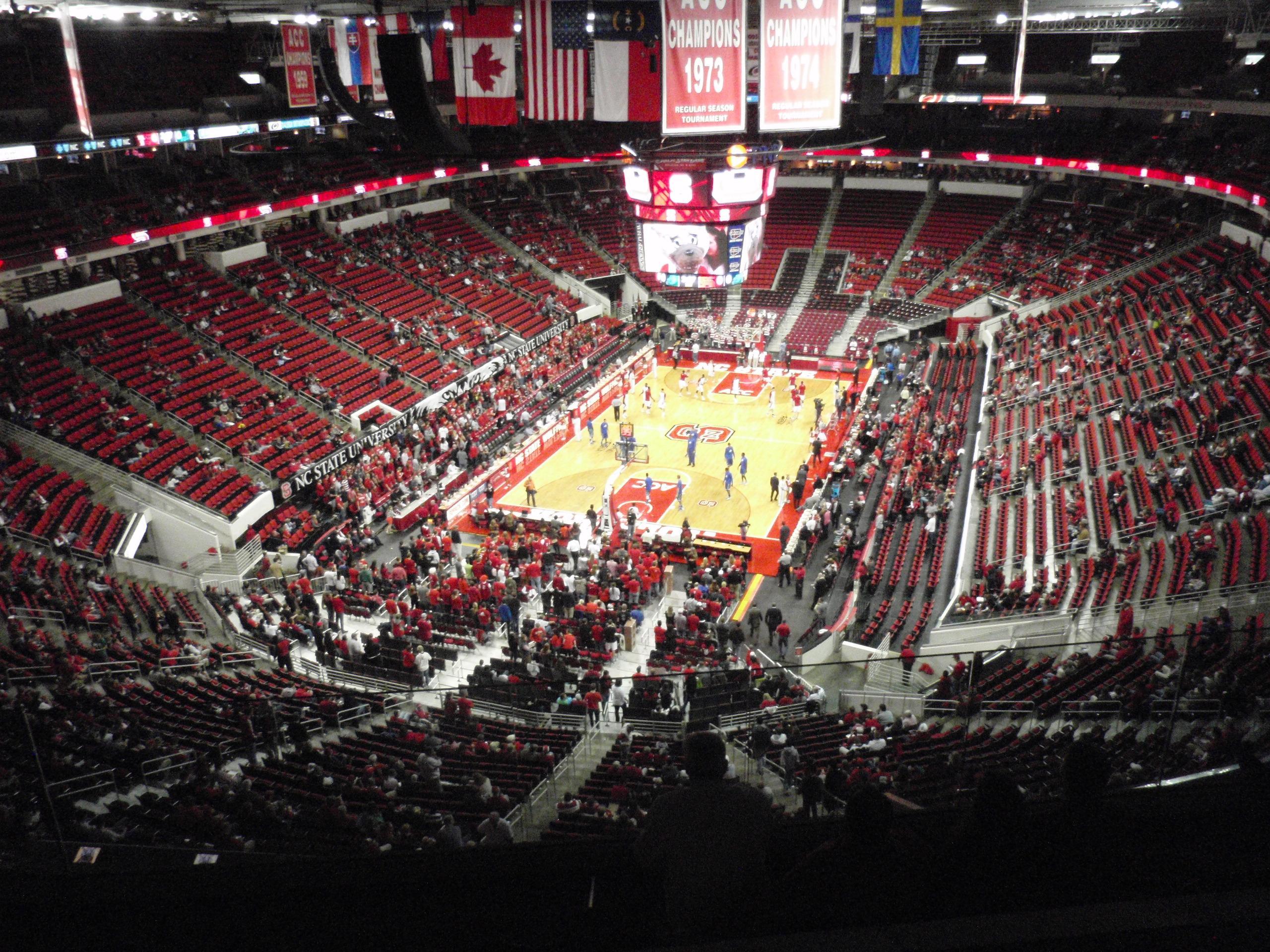 Pnc Arena Section 332 Nc State Basketball