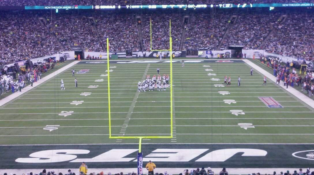 MetLife Stadium Section 126 Row 18 Seat 12