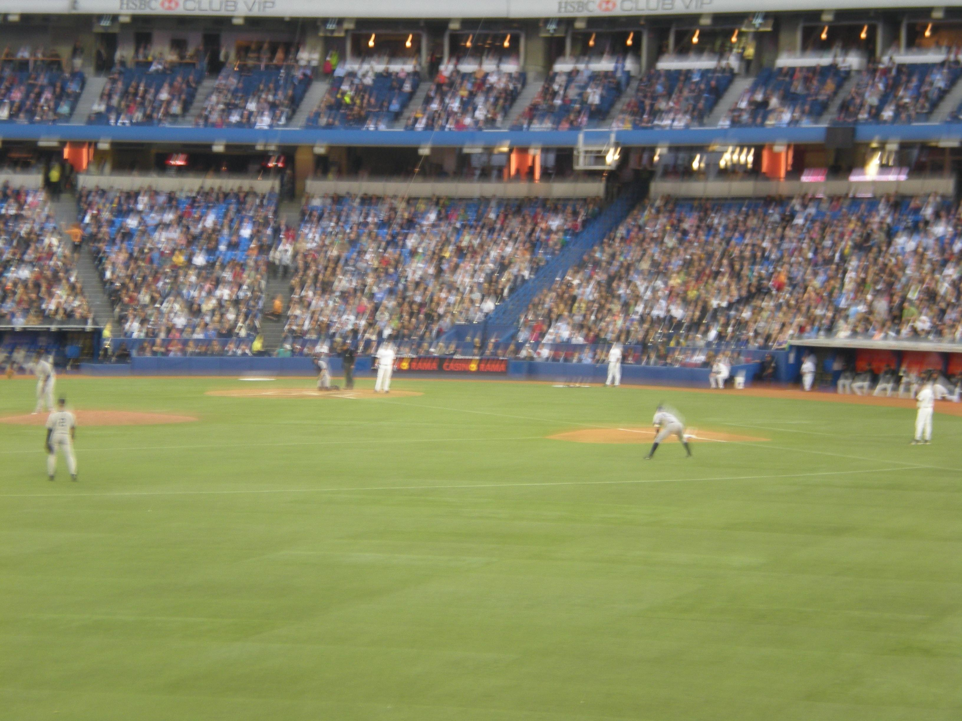 Rogers Centre Section 138R Row 1 Seat 4