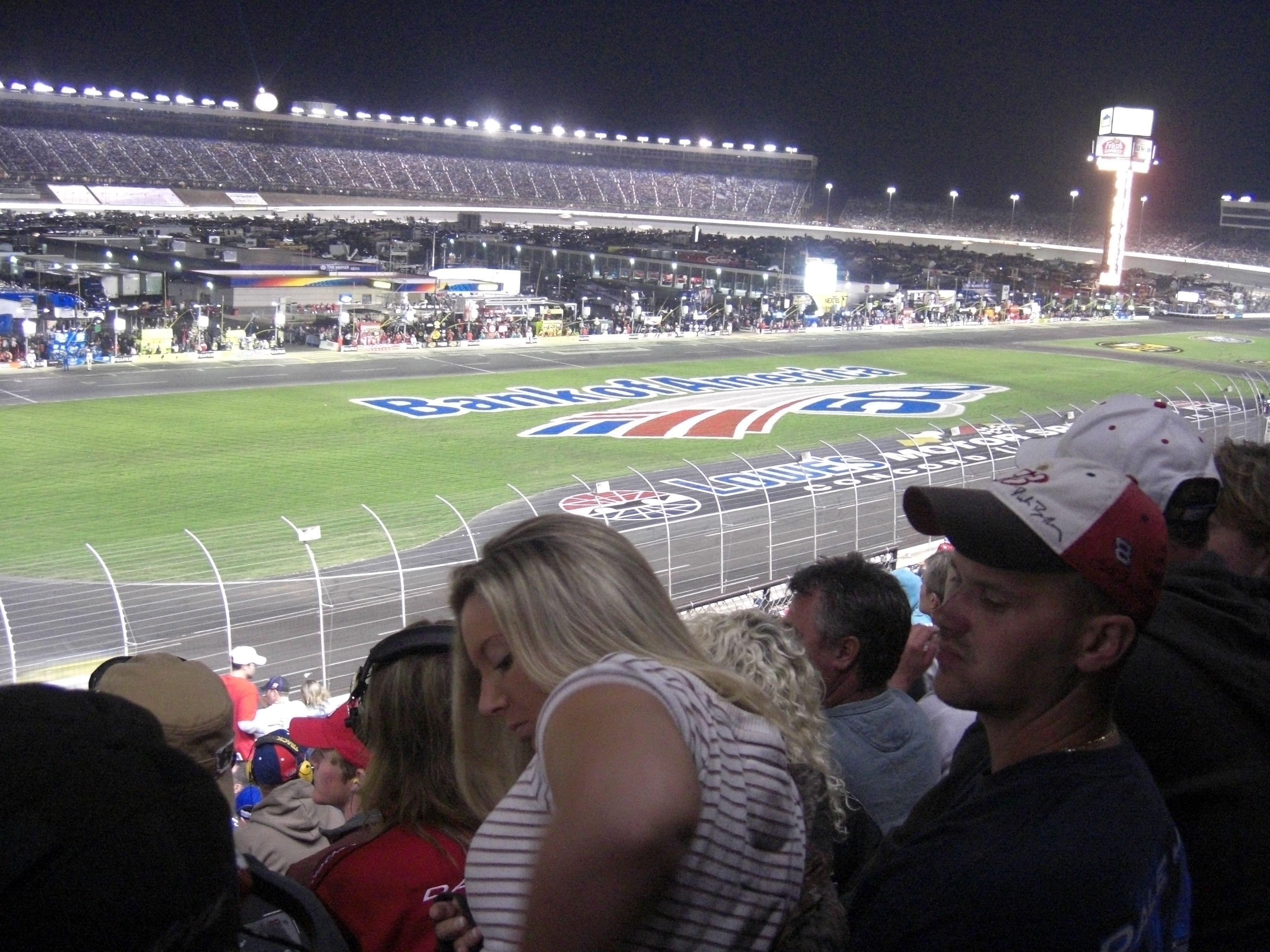 Charlotte Motor Speedway Section Chry A Row 20 Seat 5