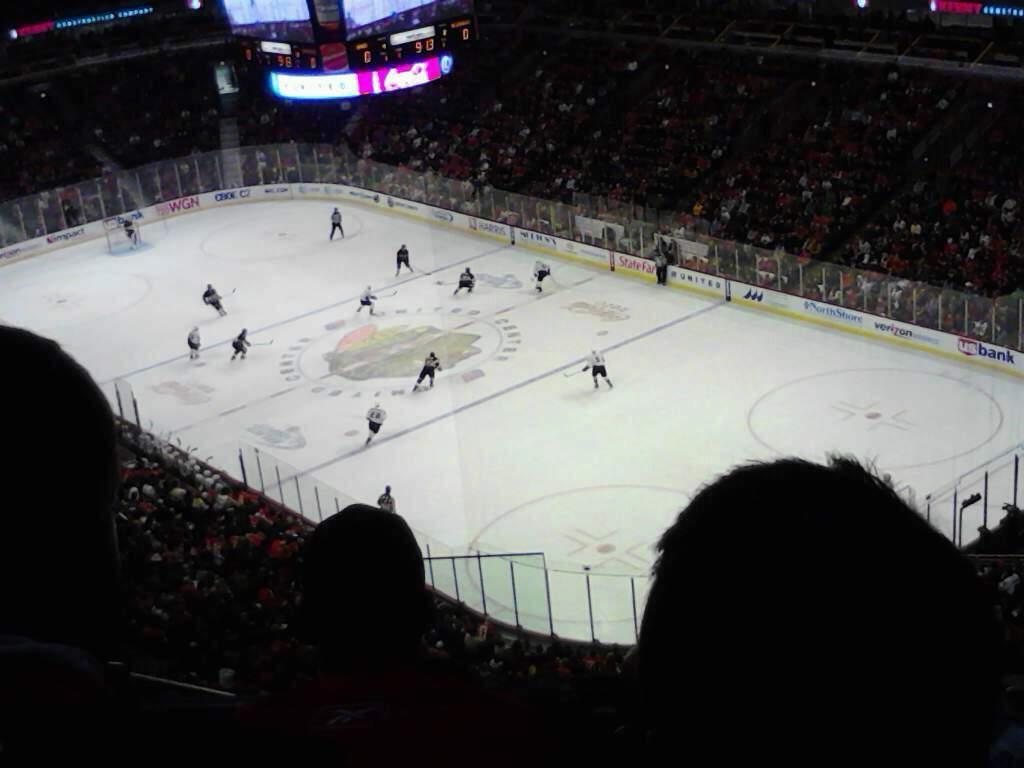 United Center Section 329 Row 12