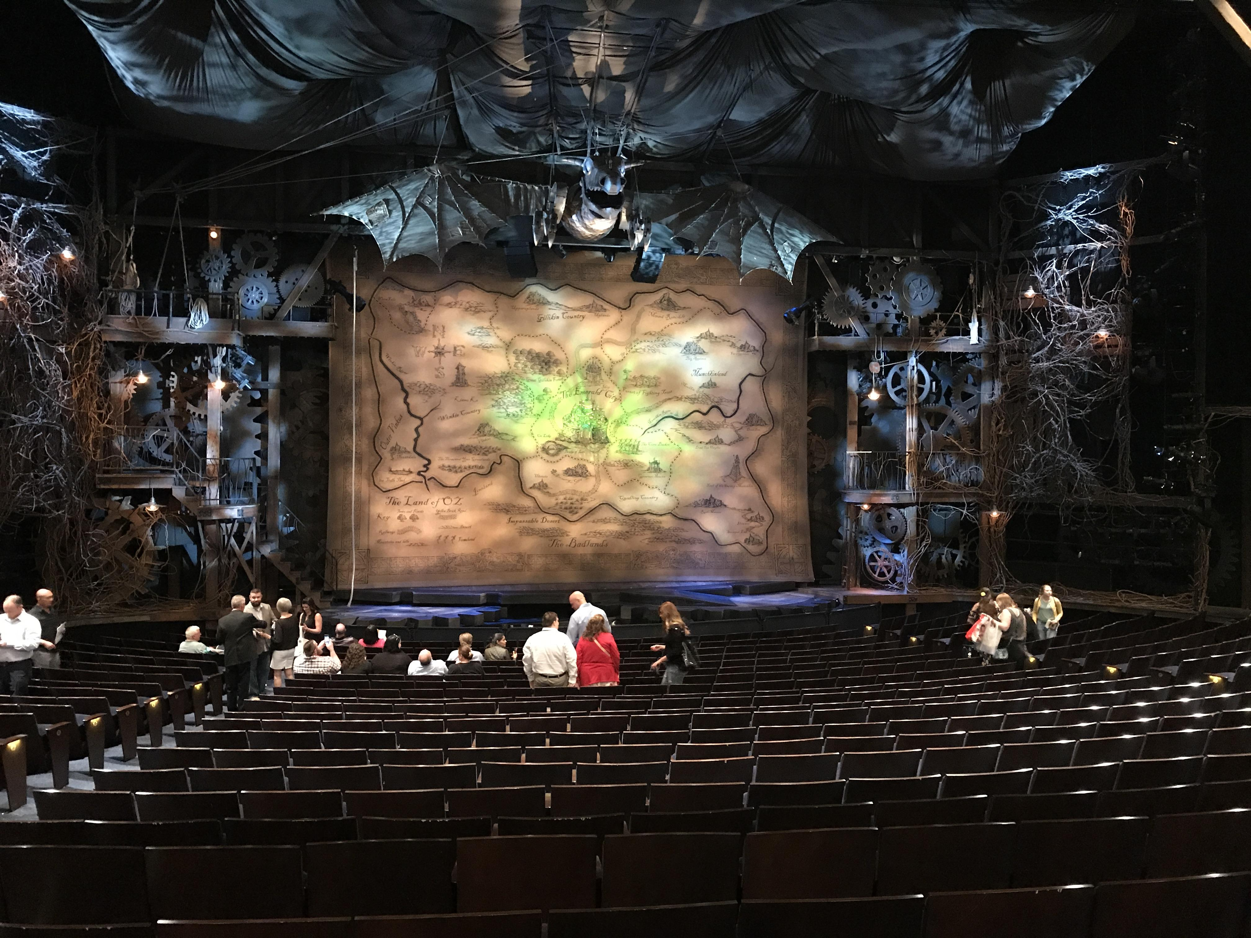 Gershwin Theatre Section Orchestra C Row T Seat 103-104