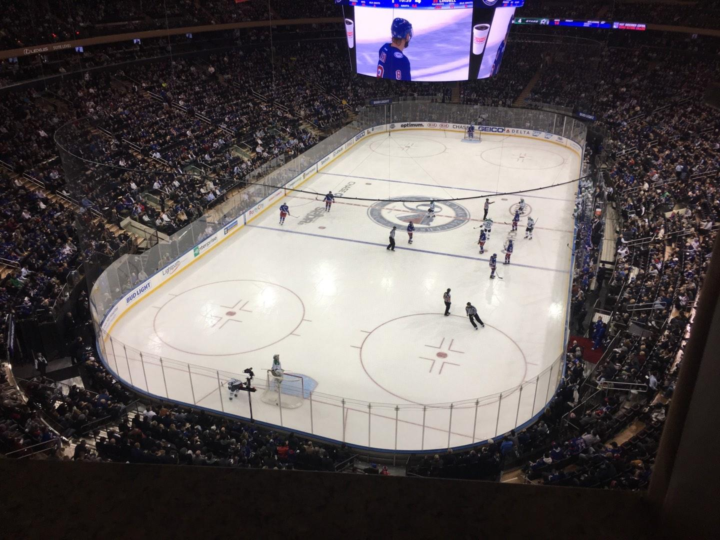 Madison Square Garden Section 306 Row 1 Seat 14