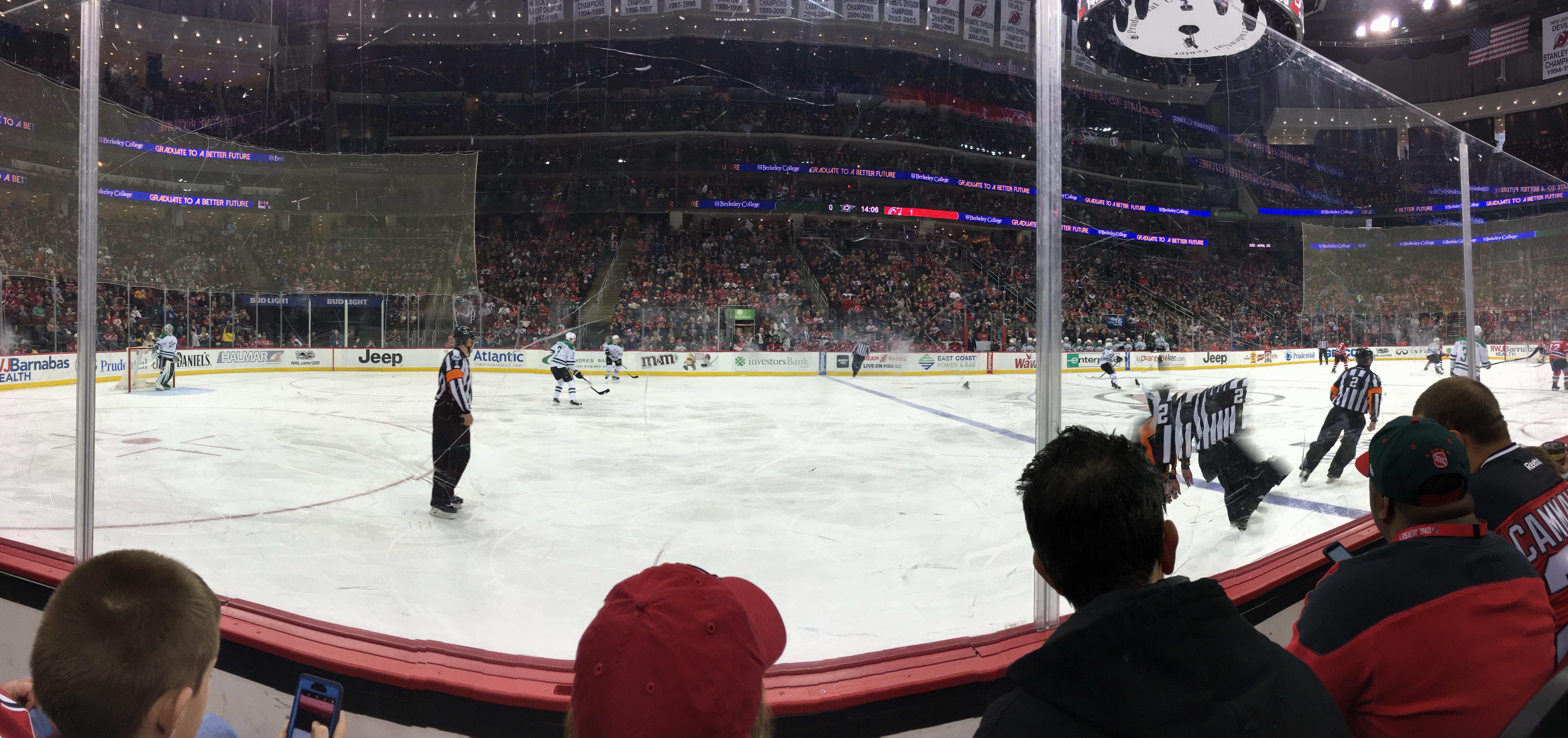 Prudential Center Section 18 Row GL2 Seat 12
