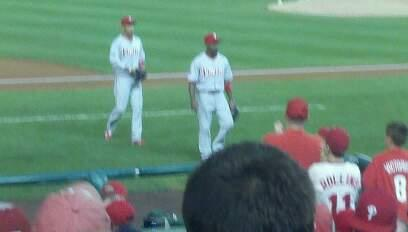 Nationals Park Section 115 Row J Seat 5