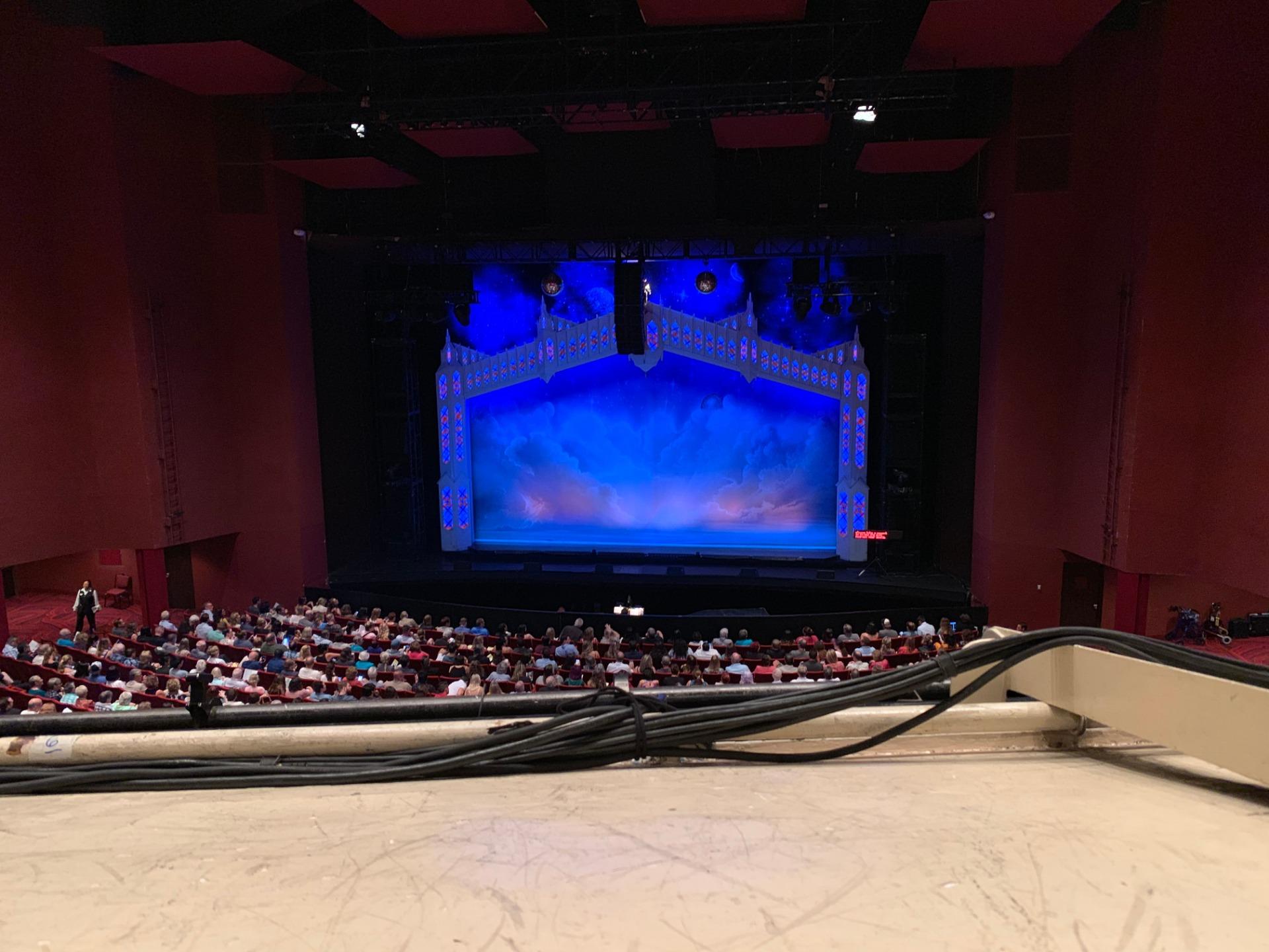 San Diego Civic Theatre Section MEZZR1 Row O Seat 14