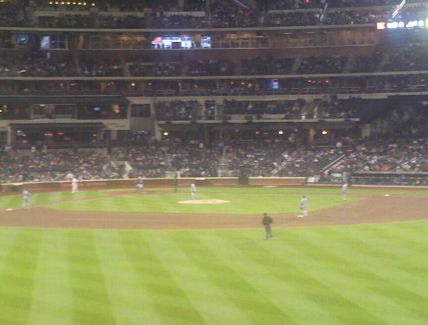 Citi Field Section 137 Row 1 Seat 25