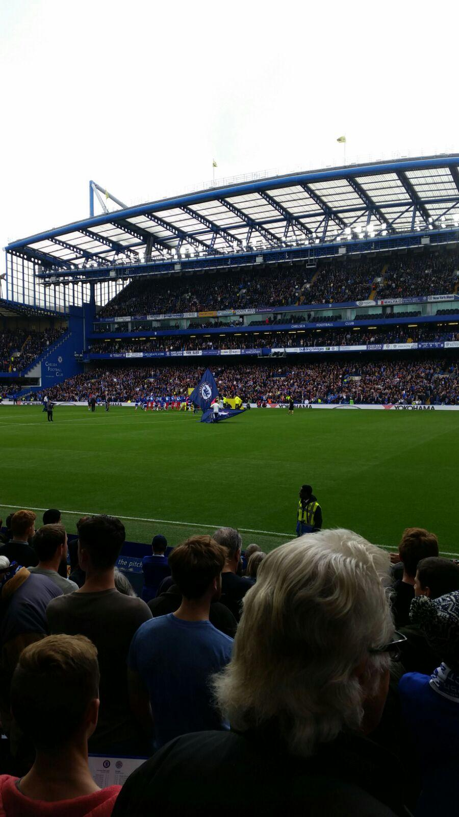 Stamford Bridge Section East Lower North Row O Seat 172