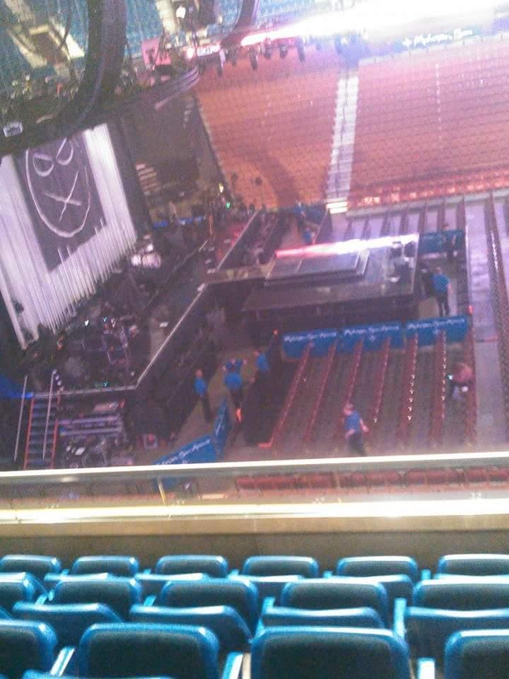 Mohegan Sun Arena Section 118 Row E Seat 5