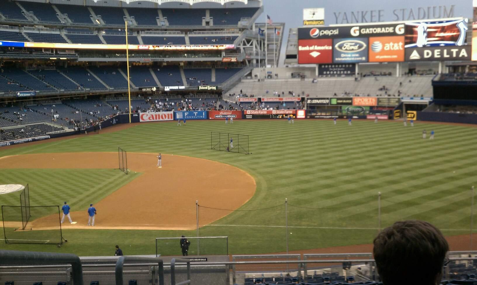 Yankee Stadium Section 214a Row 10 Seat 14
