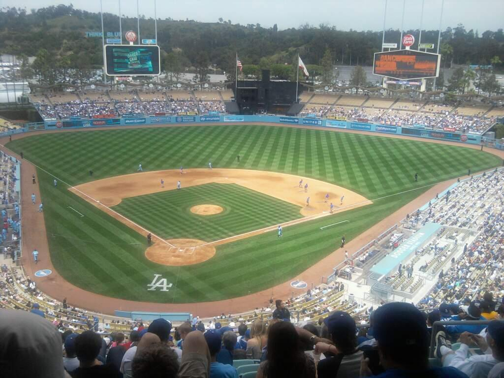 Dodger Stadium Section 2RS Row R Seat 20