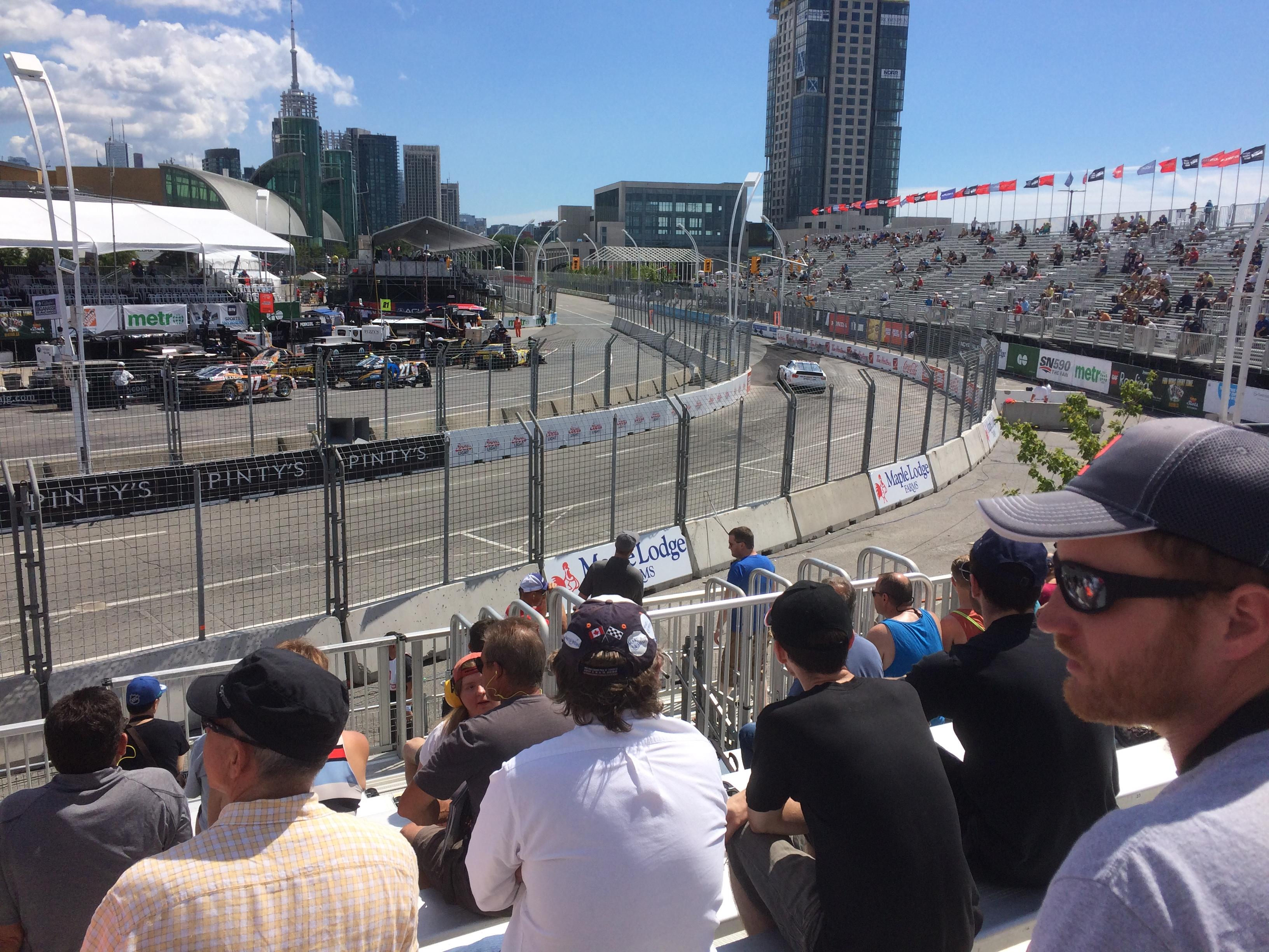Exhibition Place Section Turn 11 D Row 13 Seat 3