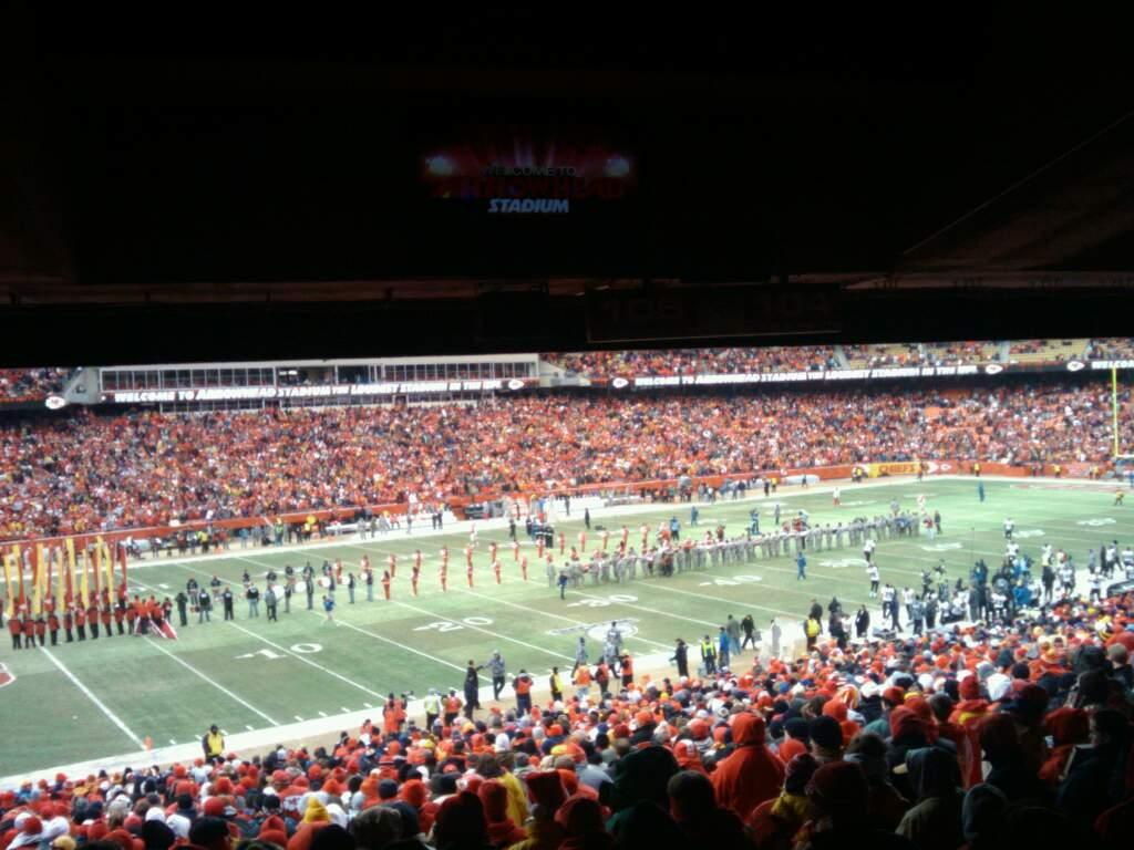 Arrowhead Stadium Section 123