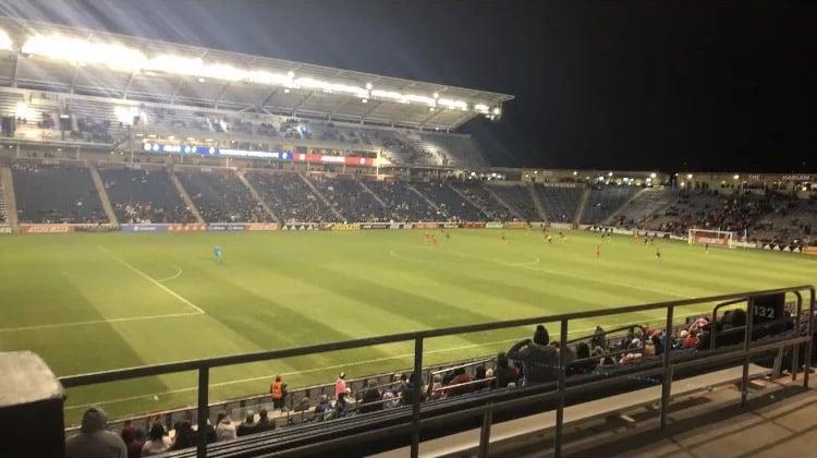 SeatGeek Stadium Section 132 Row 25 Seat 1