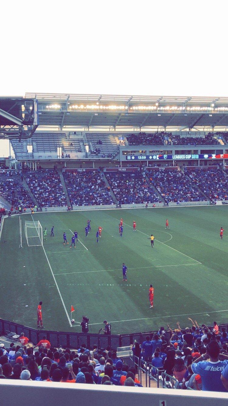 SeatGeek Stadium Section 132 Row 25 Seat 5