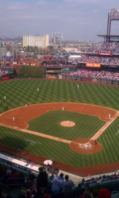 Citizens Bank Park Section 422 Row 4 Seat 24