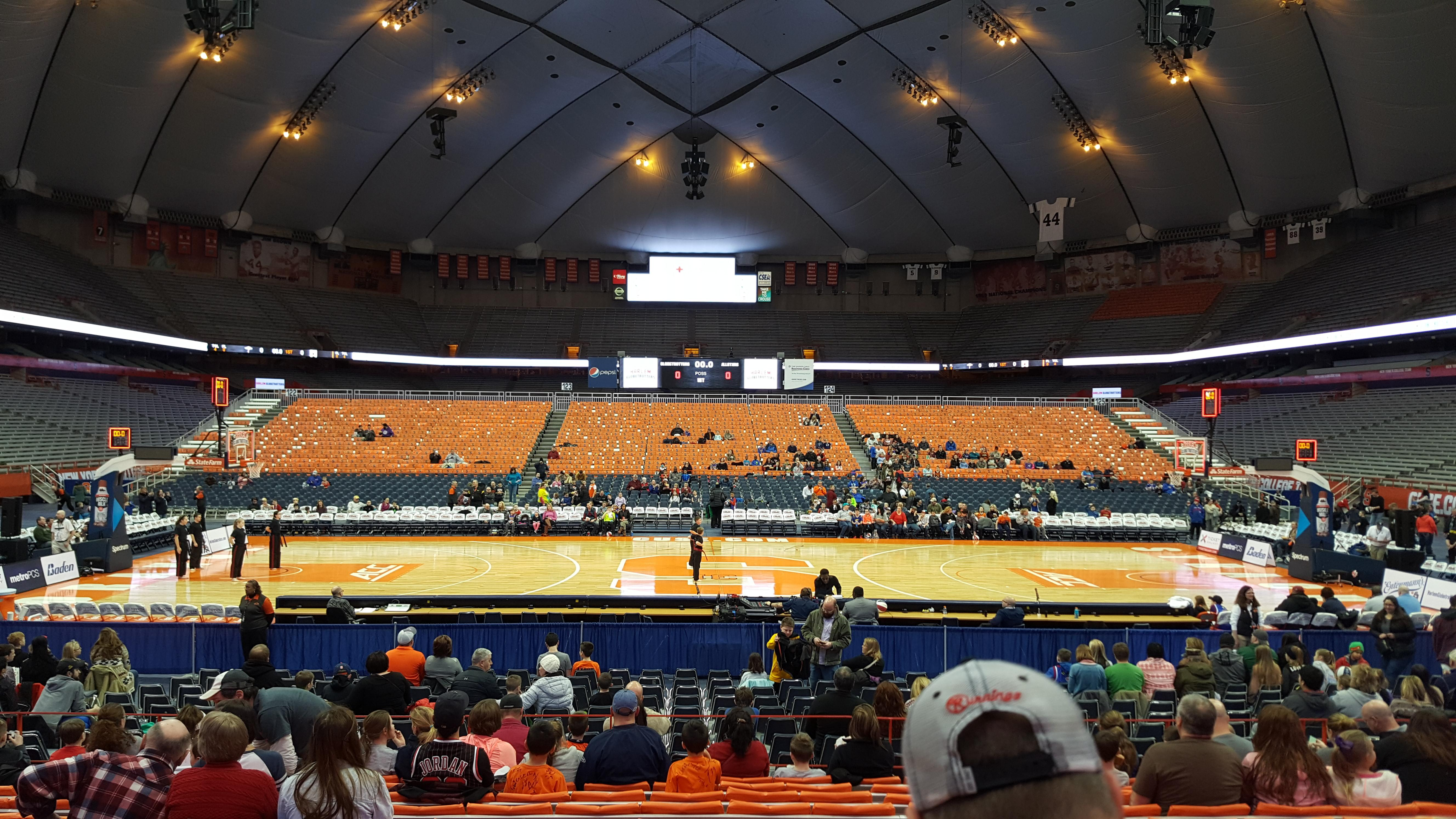Carrier Dome Section 109 Row L Seat 115