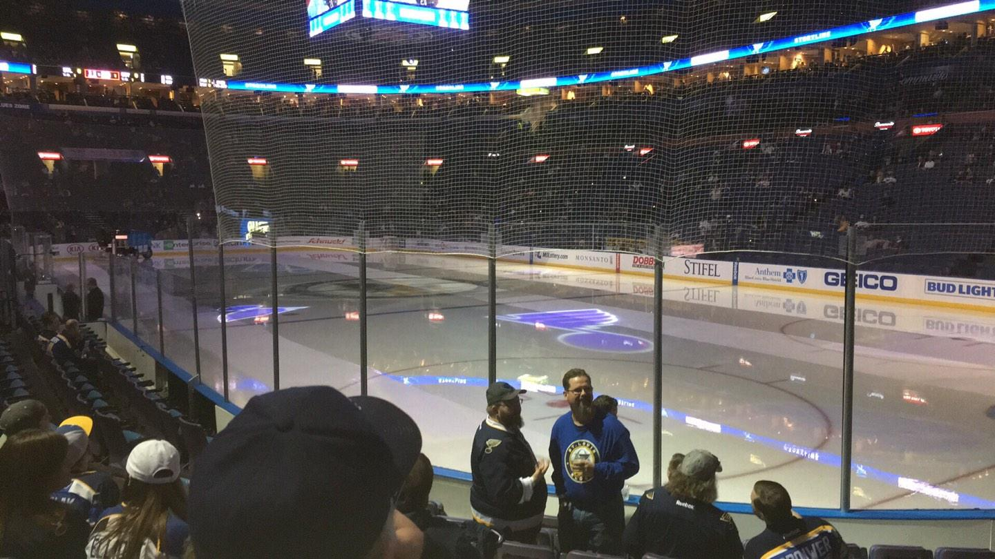 Scottrade Center Section 125 Row J Seat 8