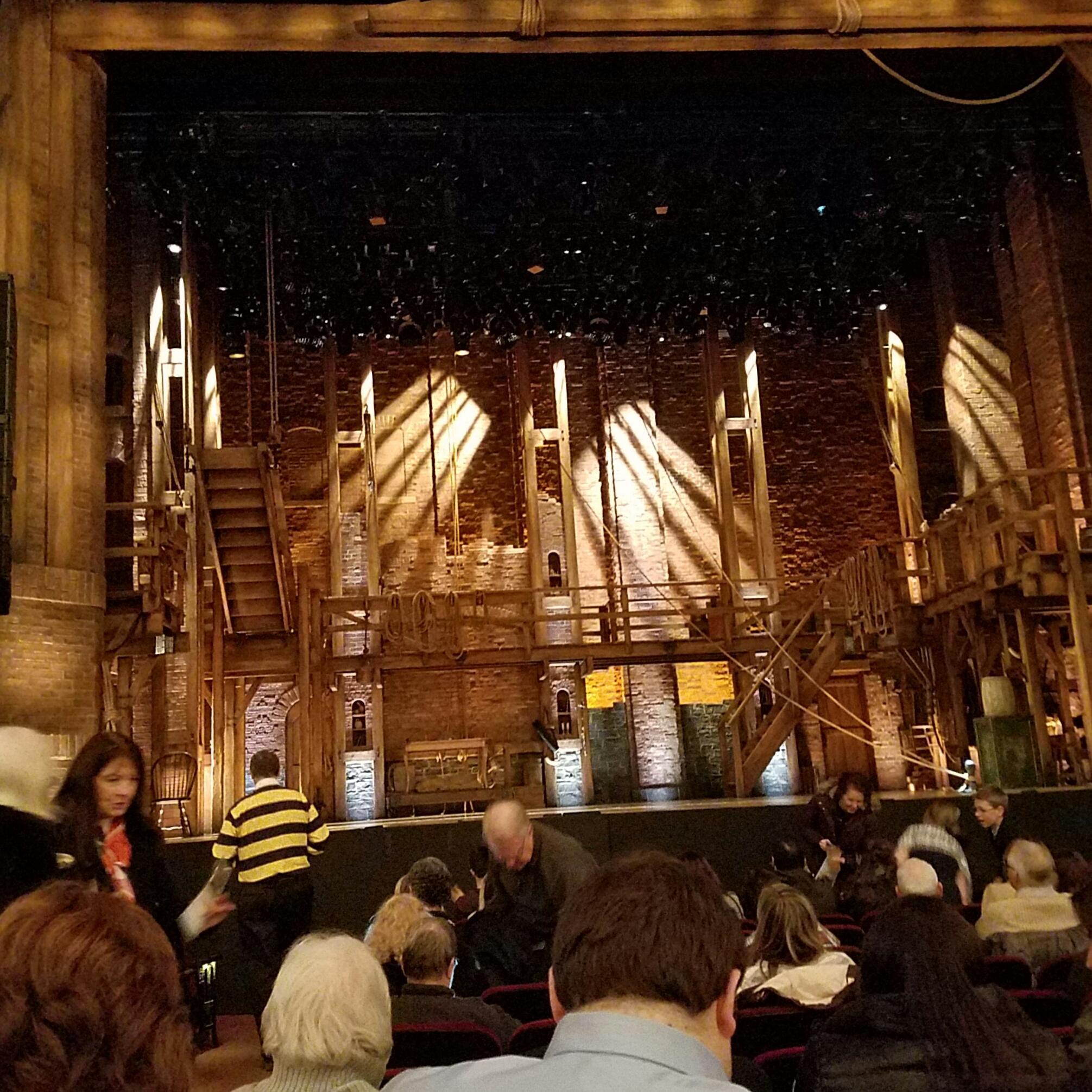 CIBC Theatre Section ORCHESTRA C Row M Seat 102