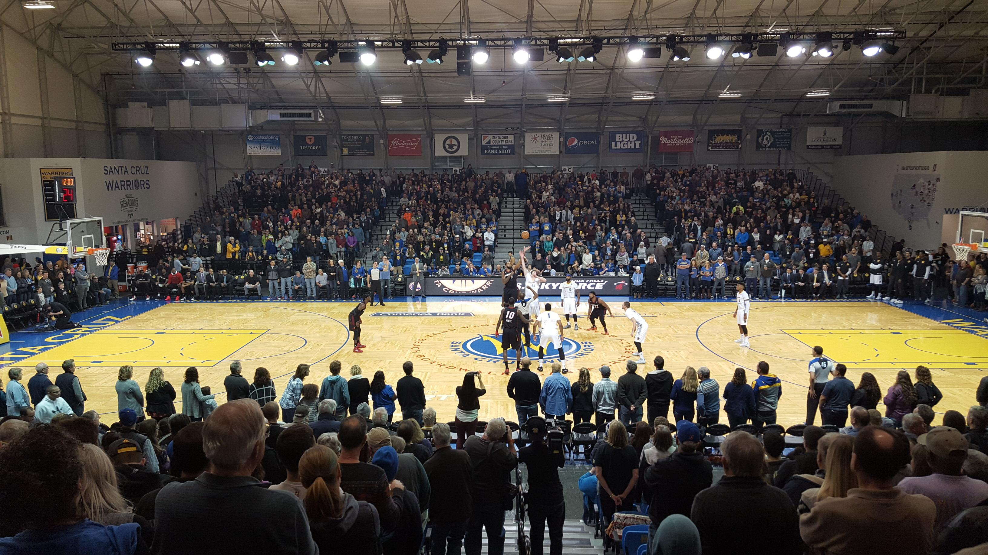 Kaiser Permanente Arena Section J Row 15 Seat 1