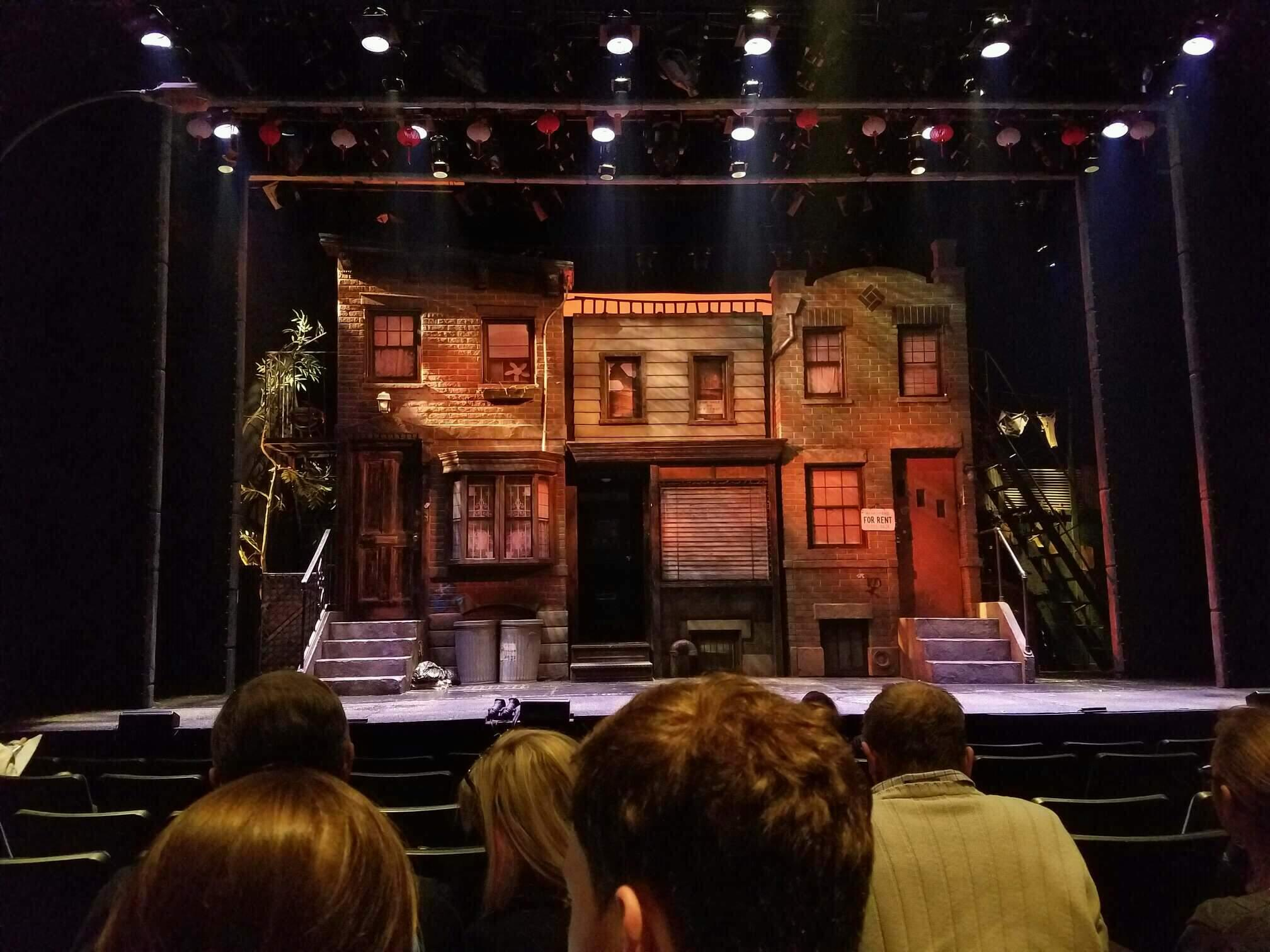 New World Stages - Stage 3 Section Orchestra Row G Seat 104